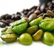 Gröna kaffebönor